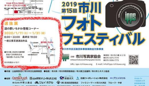 市川フォトフェスティバル 2019 選抜展が始まります!